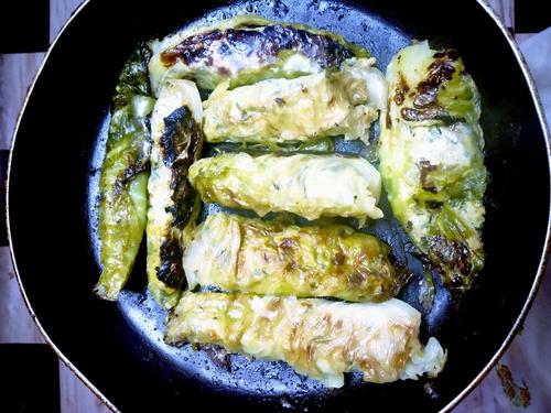 chicken cabbage roll