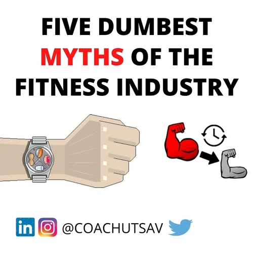 5 DUMBEST MYTHS OF THE FITNESS INDUSTRY