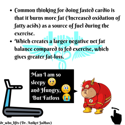 Does Fasted state Cardio give better Fatloss ? let's find out