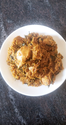 Chicken Methi Biryani