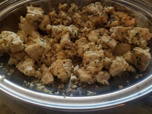 Tofu Hemp seeds stir fry