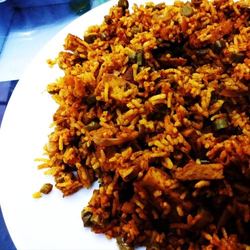 Tofu Tava Pulav