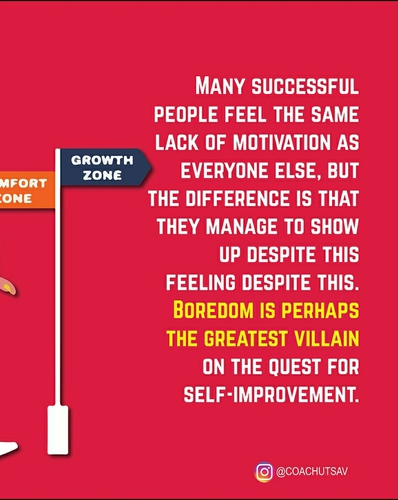 Are you bored with the same routine?