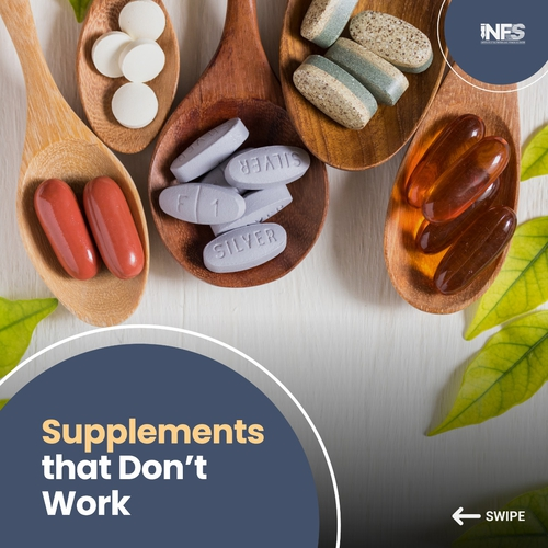 Supplements that don't Work
