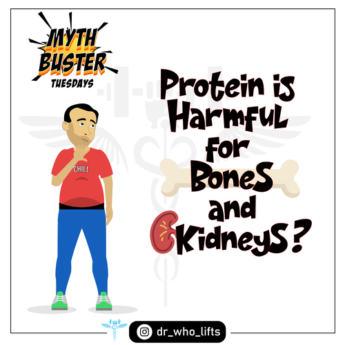 Is Protein harmful for Bones and Kidneys?