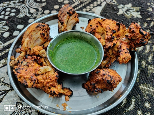 No Oil Tandoori Chicken