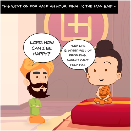 Buddha And The Story Of 84 Problems