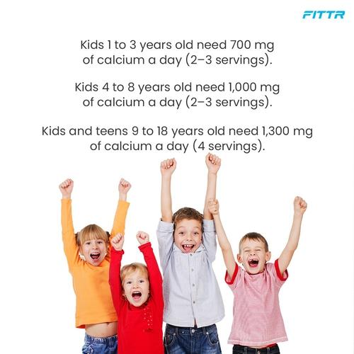 The key building block in children's growth - Calcium