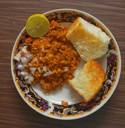 Soya Pav Bhaji