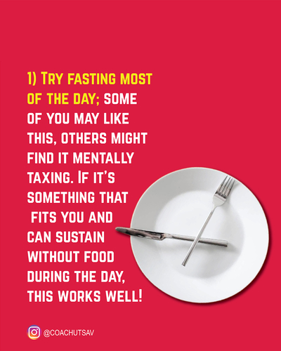 Dieting in Festivals