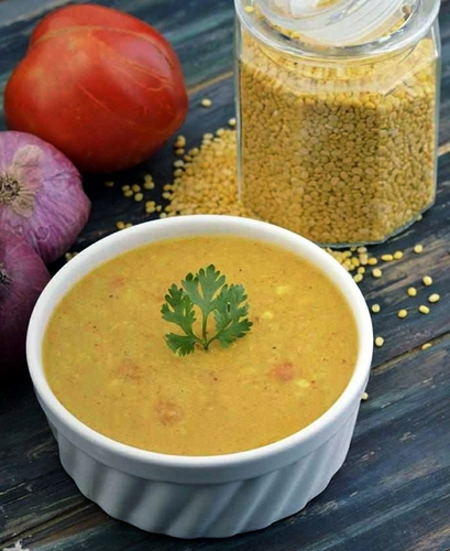 Spicy Yellow Moong Dal