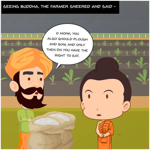 THE BUDDHA AND THE FARMER