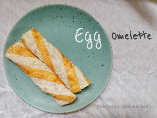 Egg omelette with style