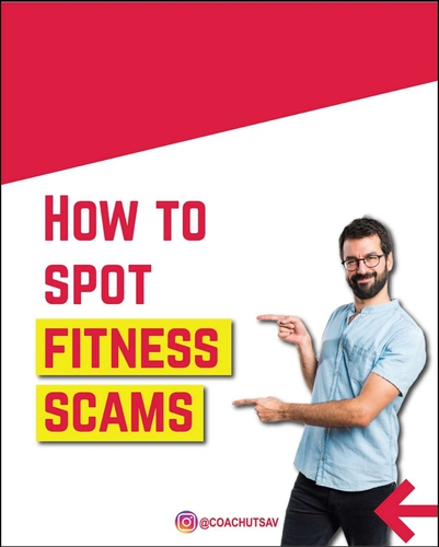 How to spot scams in the fitness industry?