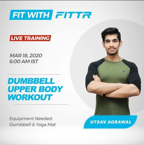 Upper Body Dumbbell Workout