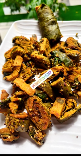 Protein Spinach Patra