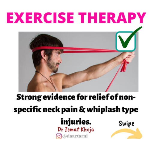 Treatment for Neck Pain!
